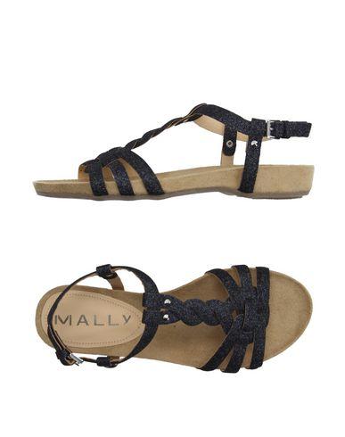 Фото - Женские сандали MALLY цвет стальной серый