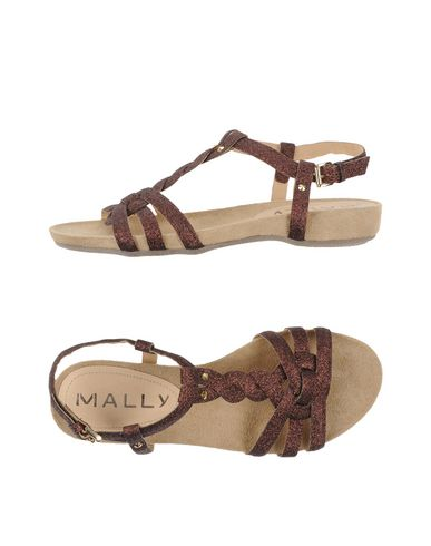 Фото - Женские сандали MALLY бронзового цвета