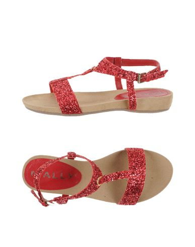Фото - Женские сандали MALLY красного цвета
