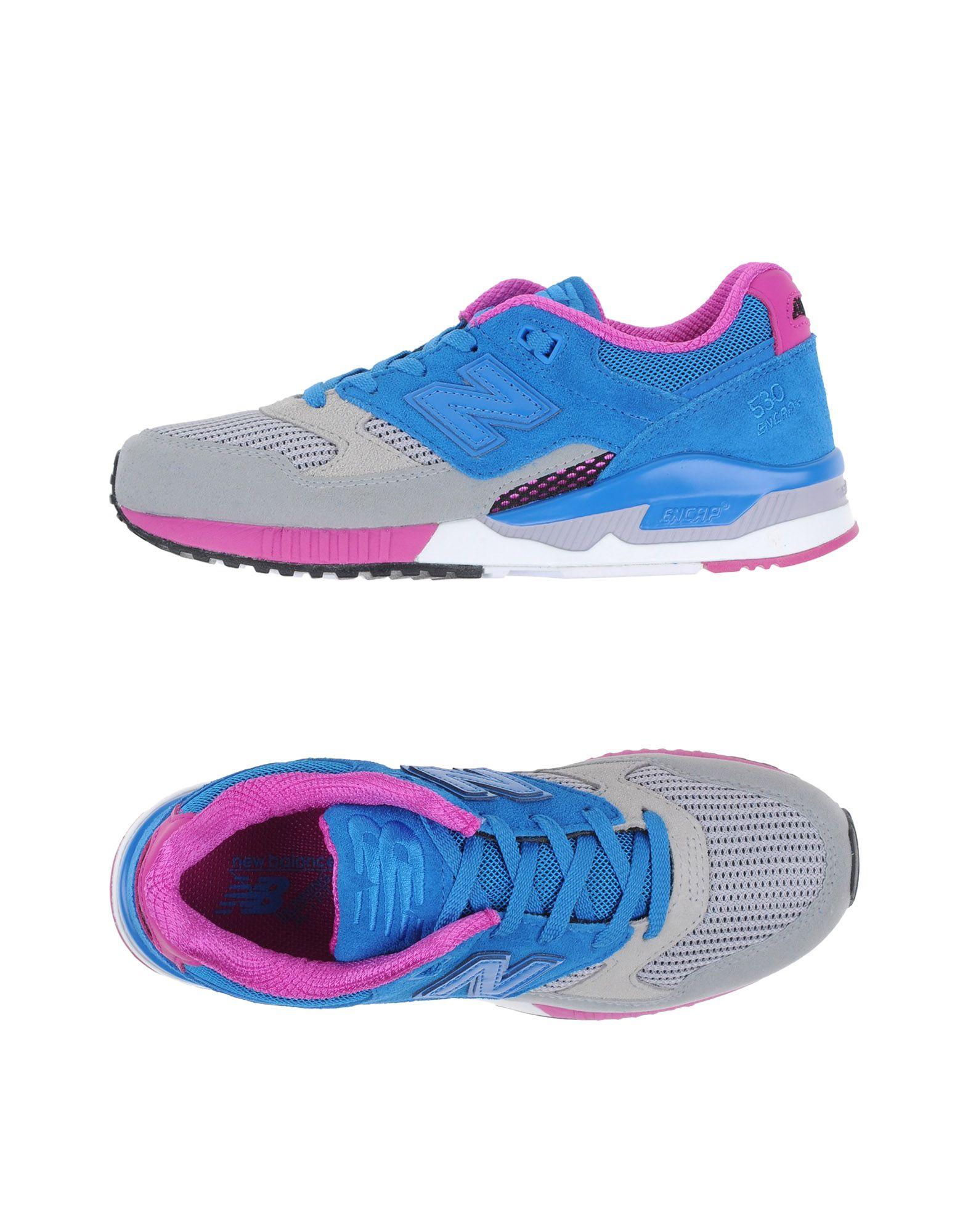 NEW BALANCE Низкие кеды и кроссовки обувь shoiberg