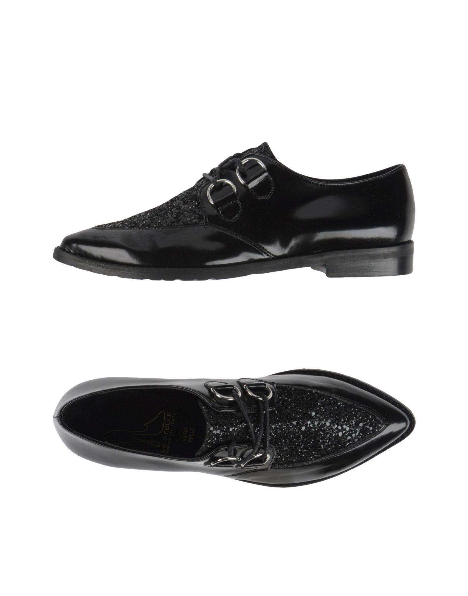 LE STELLE Обувь на шнурках le blog обувь на танкетке