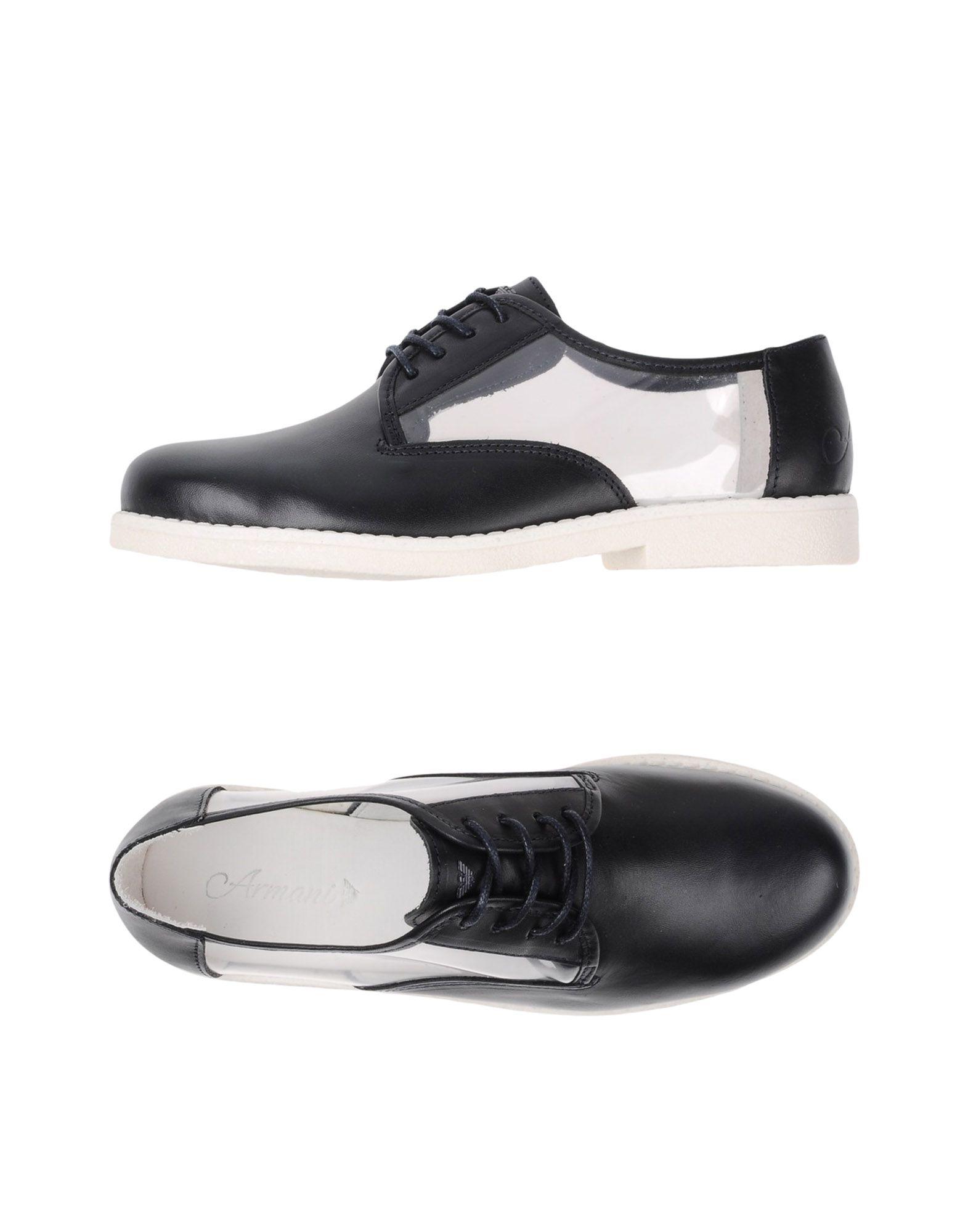 ARMANI JUNIOR Обувь на шнурках