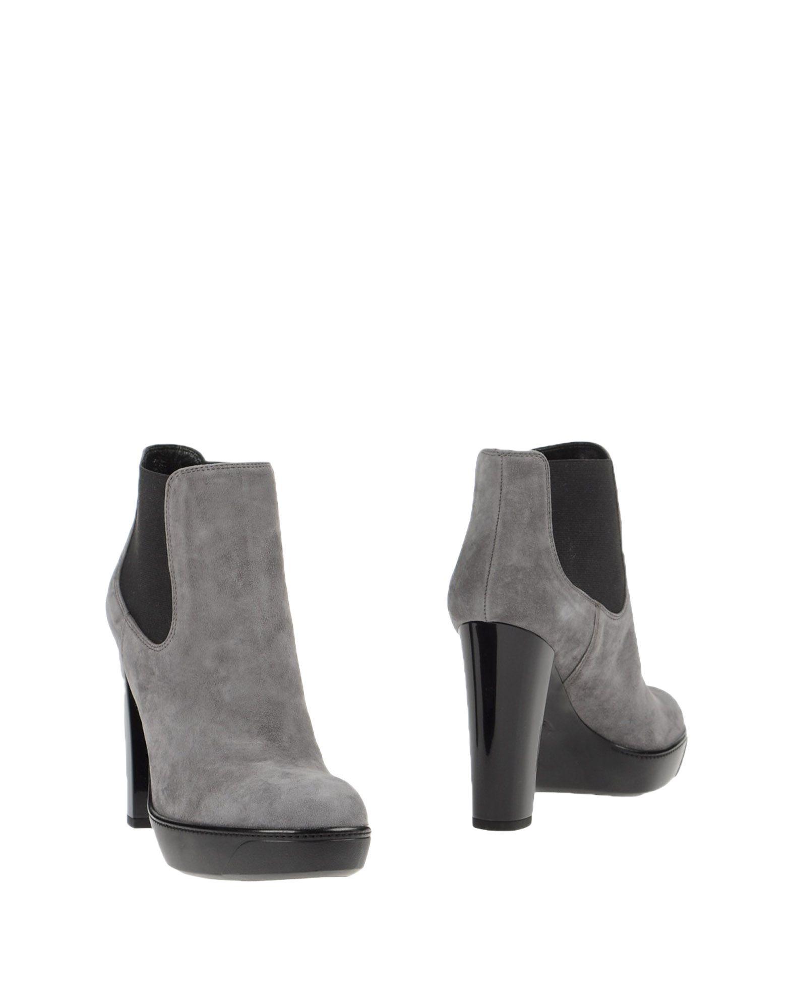 HOGAN Полусапоги и высокие ботинки grey mer полусапоги и высокие ботинки