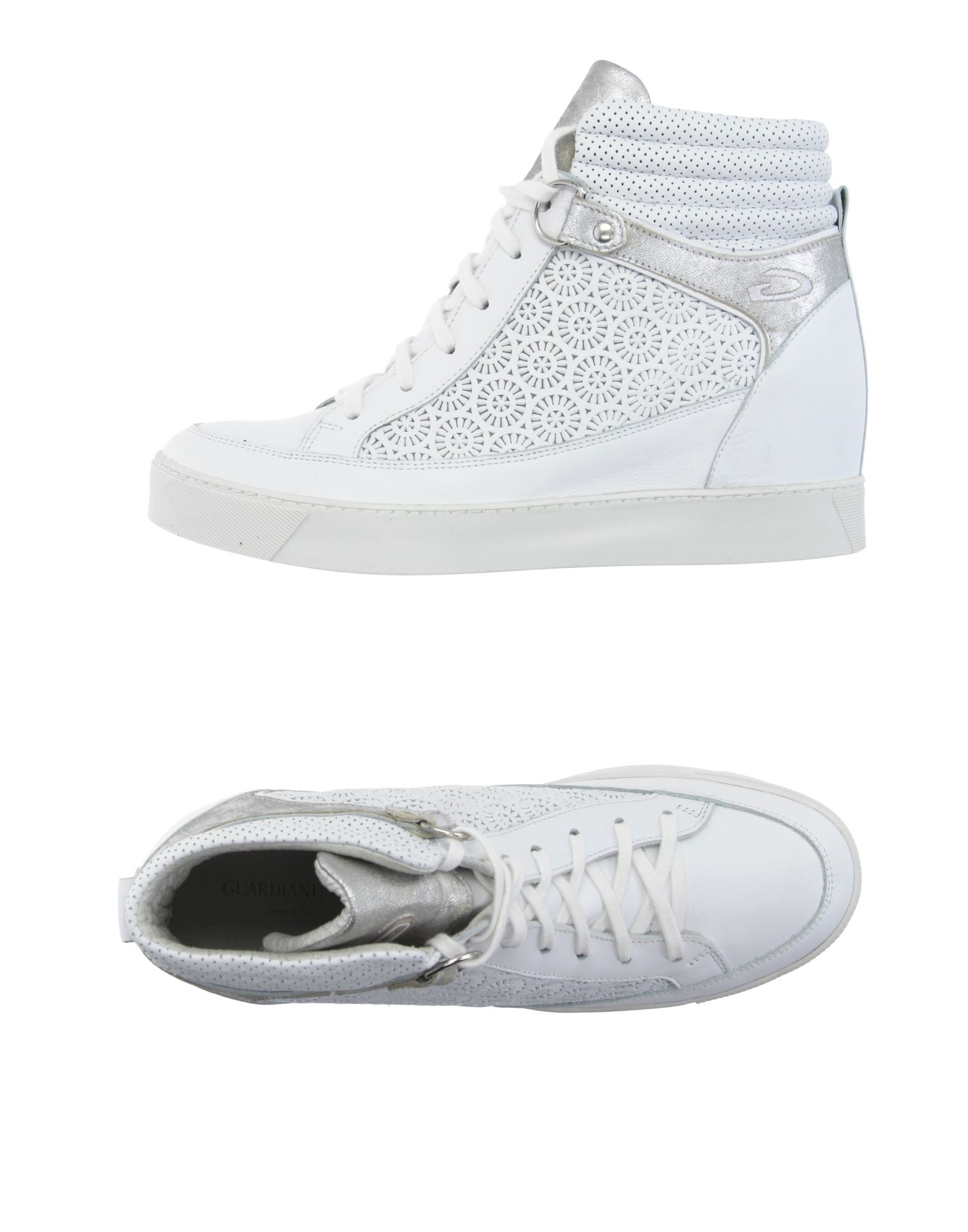 ALBERTO GUARDIANI Sneakers in White