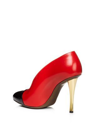 LANVIN Bicolour stiletto pump Pumps D r