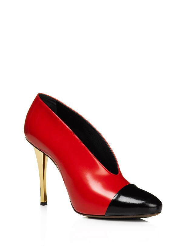 LANVIN Bicolor stiletto pump Pumps D f