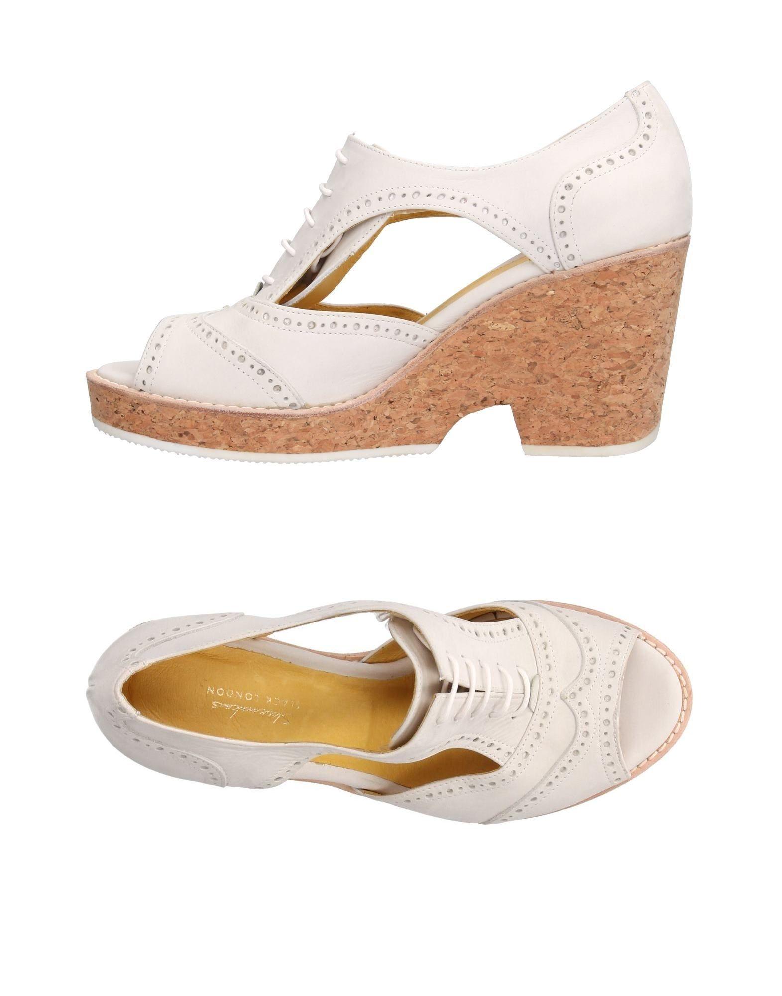 SLACK LONDON Обувь на шнурках цены онлайн