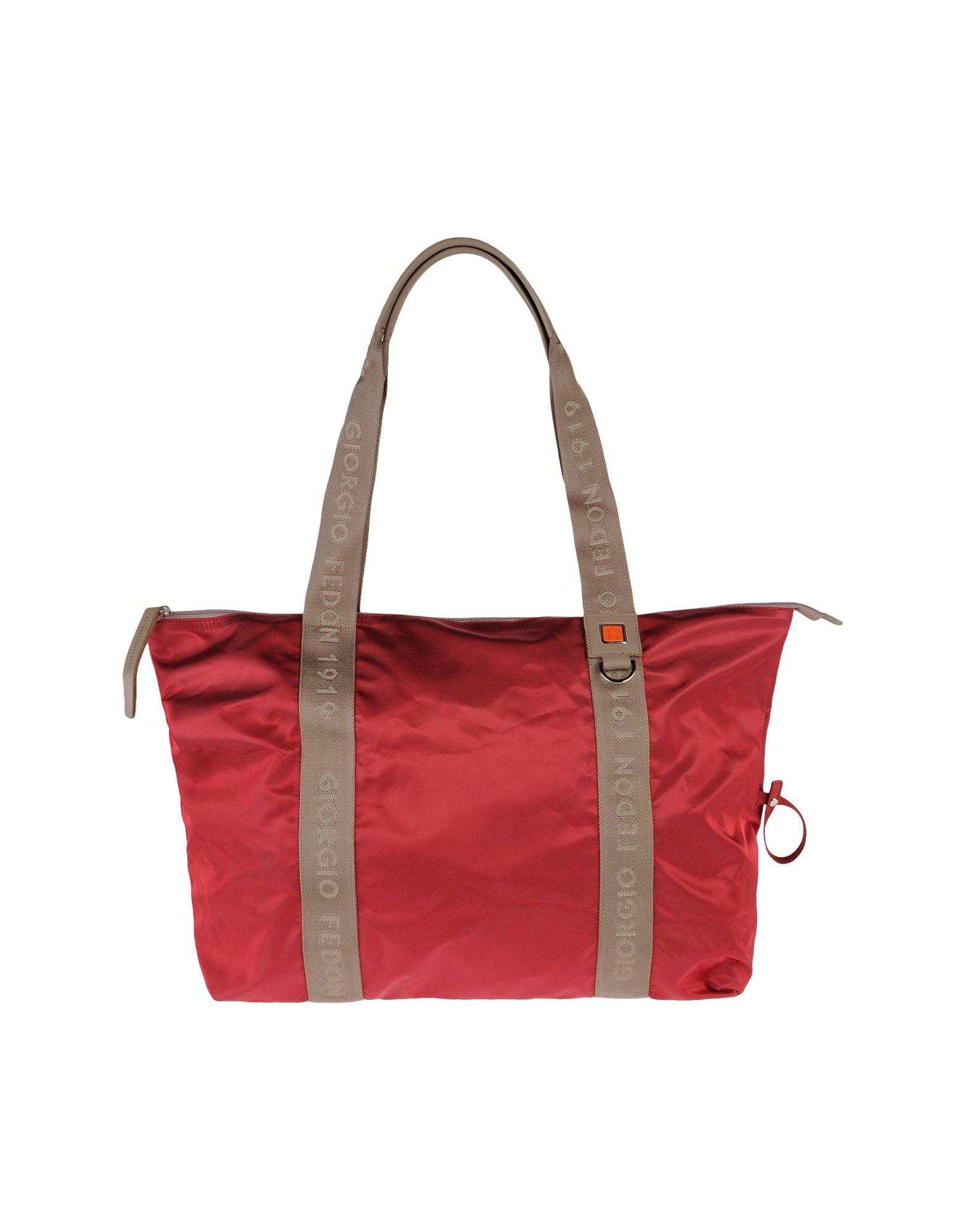 цена GIORGIO FEDON 1919 Большая сумка из текстиля онлайн в 2017 году
