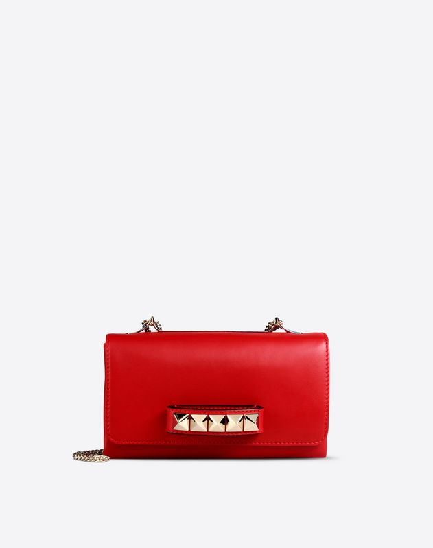 Knuckle Stud Shoulder Bag