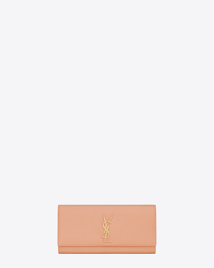 MONOGRAM KATE CLUTCH