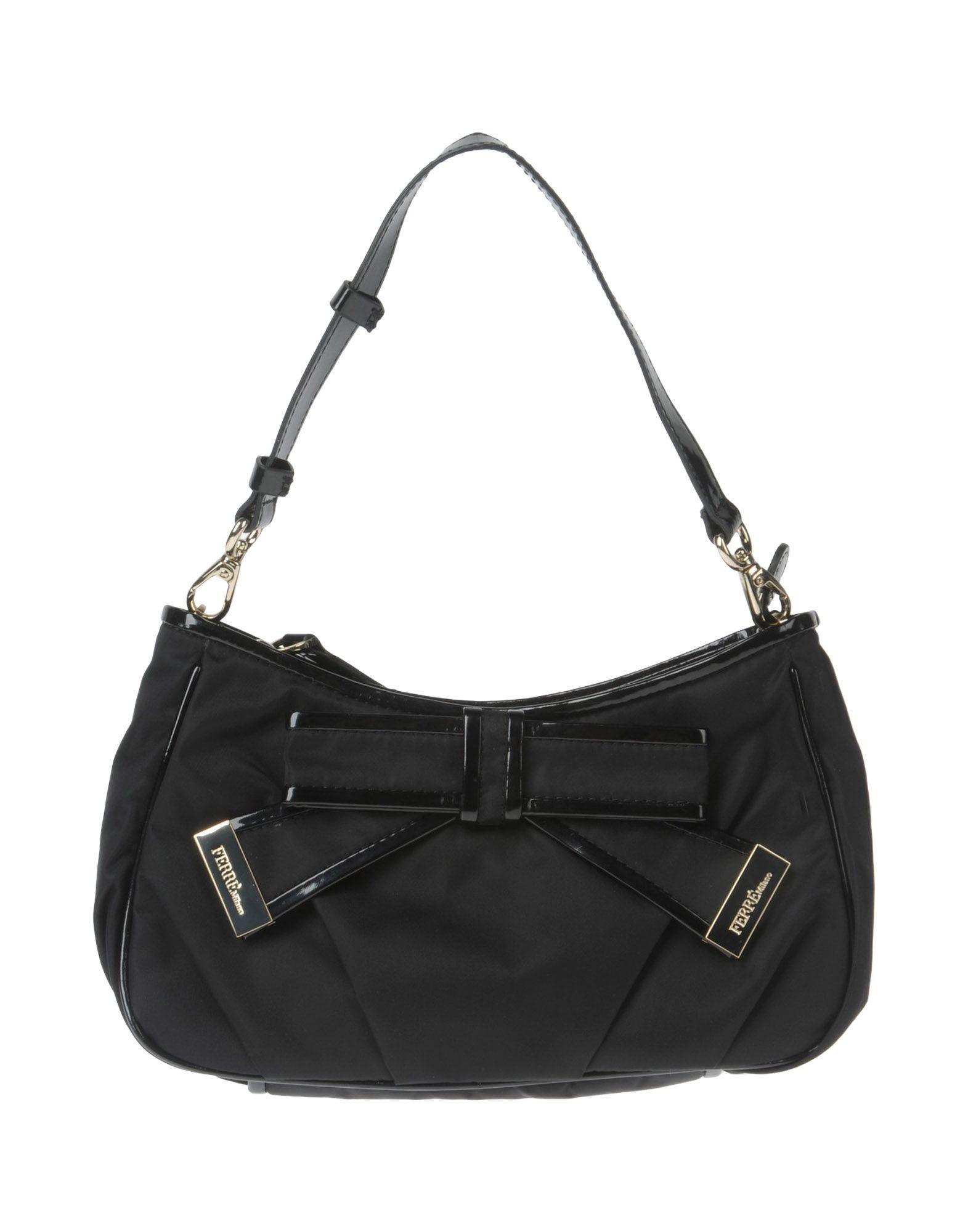 купить FERRE' MILANO Средняя сумка из текстиля по цене 5550 рублей