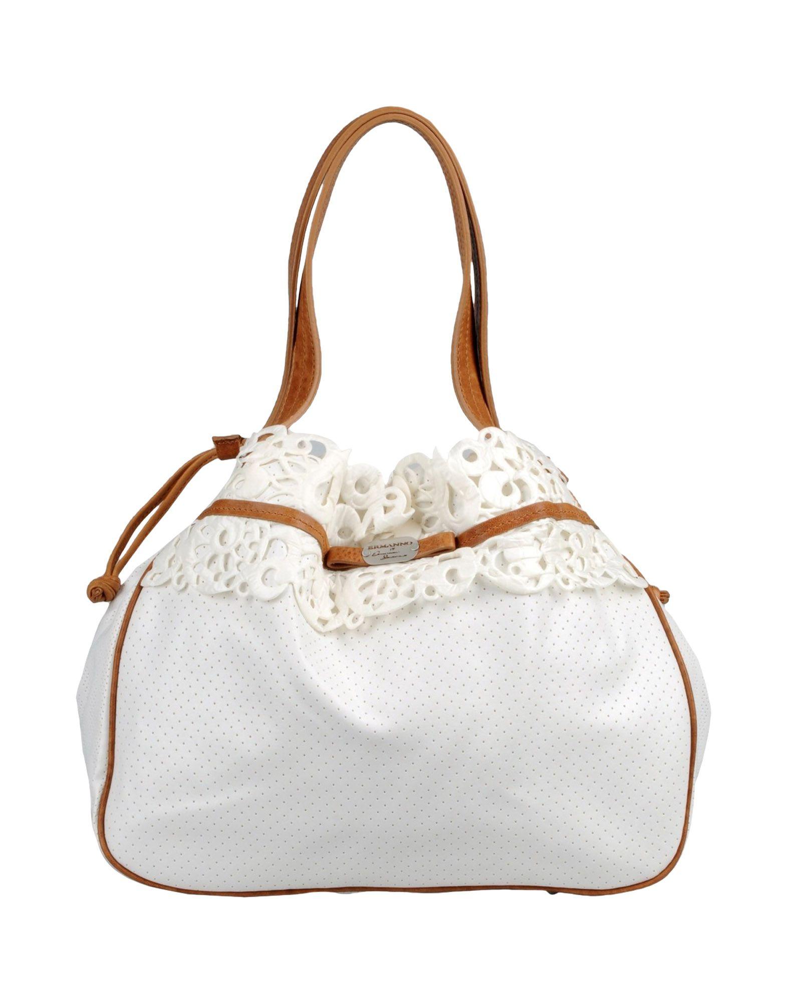 купить ERMANNO DI ERMANNO SCERVINO Большая сумка из текстиля по цене 6850 рублей