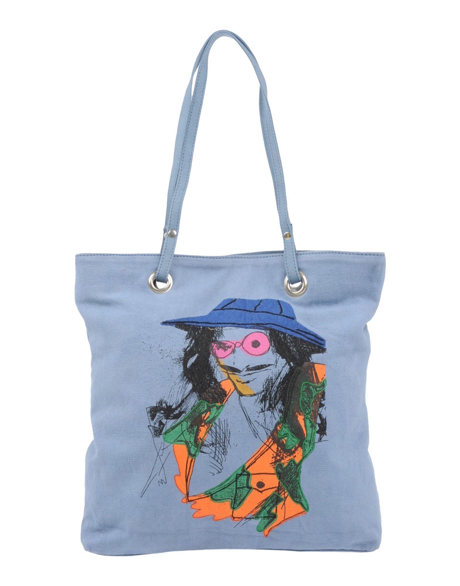 GALLIANO Большая сумка из текстиля