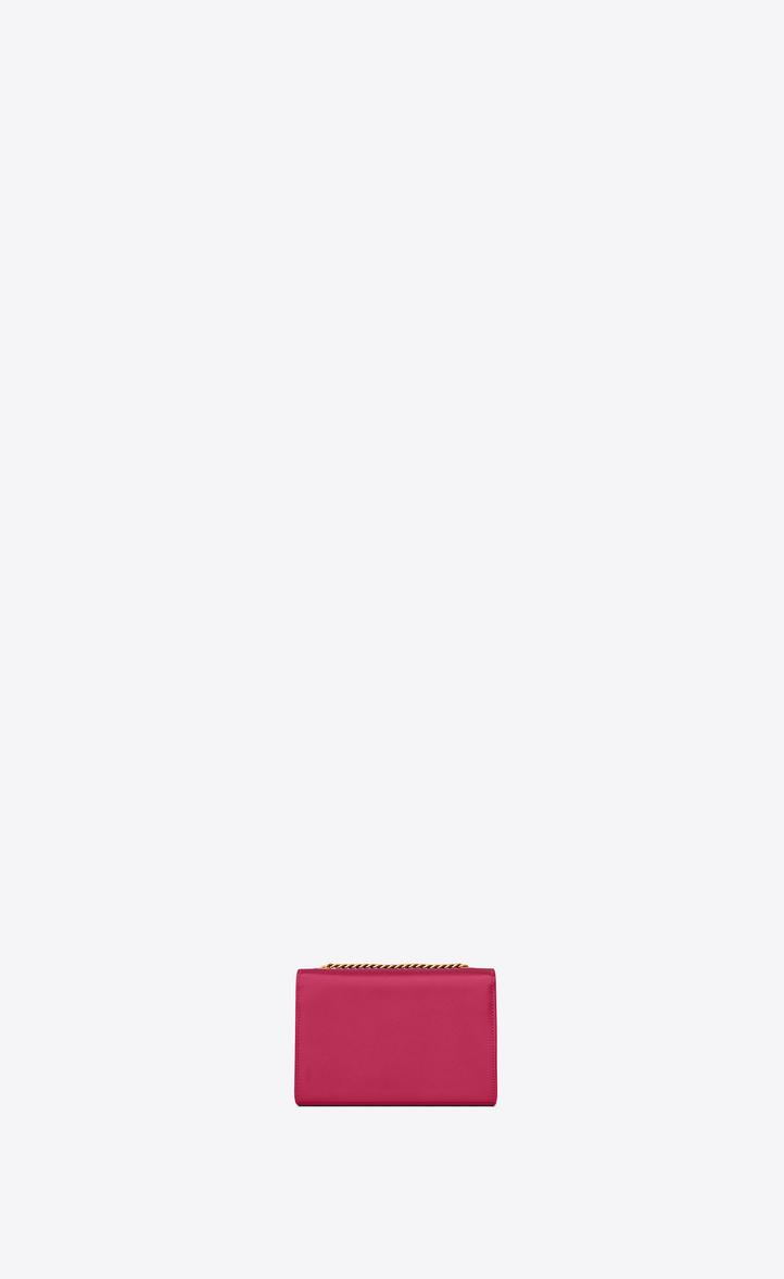 b30fbd979b Zoom  classic small kate satchel in in lipstick fuchsia grain de poudre  textured leather