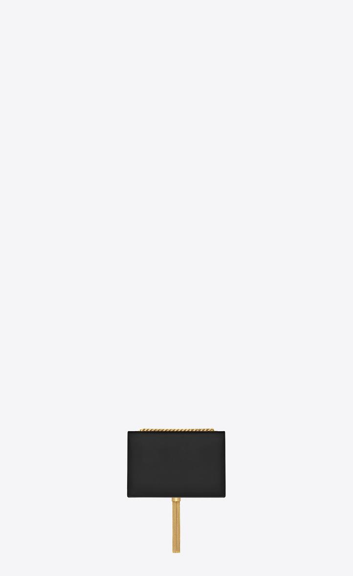 Saint Laurent Classic Small Kate Tassel Chain Bag In Black Leather ... 0b1443ce5f