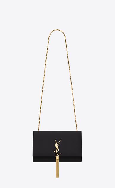 SAINT LAURENT MONOGRAM KATE WITH TASSEL D classic medium kate tassel satchel in black leather v4