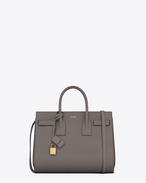 SAINT LAURENT Sac De Jour Small D CLASSIC SMALL SAC DE JOUR BAG in Fog Leather f