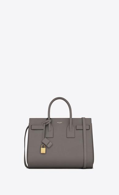 SAINT LAURENT Sac De Jour Small D CLASSIC SMALL SAC DE JOUR BAG in Fog Leather a_V4