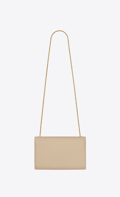 SAINT LAURENT MONOGRAM KATE D medium kate chain bag in powder grain de poudre textured leather b_V4