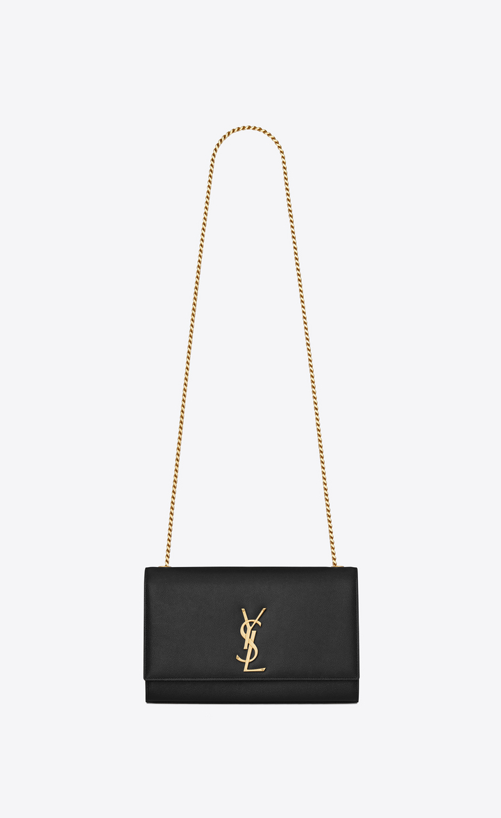 Saint Laurent Kate Medium In Grain De Poudre Embossed Leather ... 69a05e3001