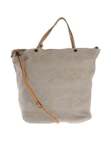 CATERINA LUCCHI レディース ハンドバッグ ライトグレー 紡績繊維 / 柔らかめの牛革
