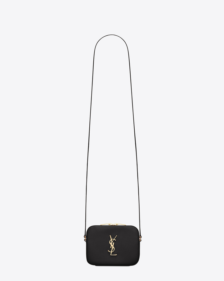 Innovative Saint Laurent CLASSIC MONOGRAM SAINT LAURENT SHOPPING BAG IN Dark Beige GRAIN DE POUDRE TEXTURED ...