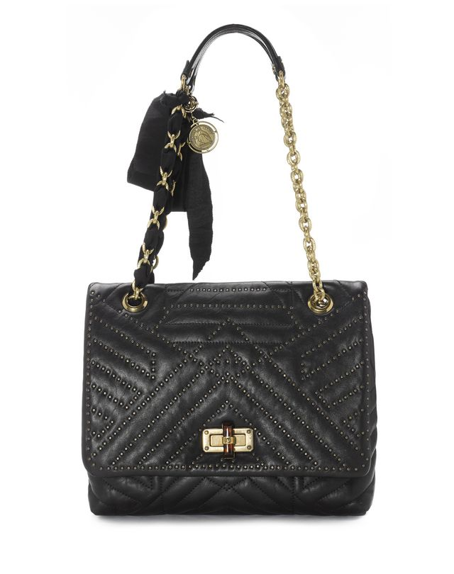 Lanvin Medium Studded Lambskin Hy Bag Shoulder Women Online