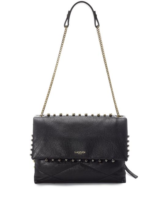 lanvin quilted lambskin sugar bag women