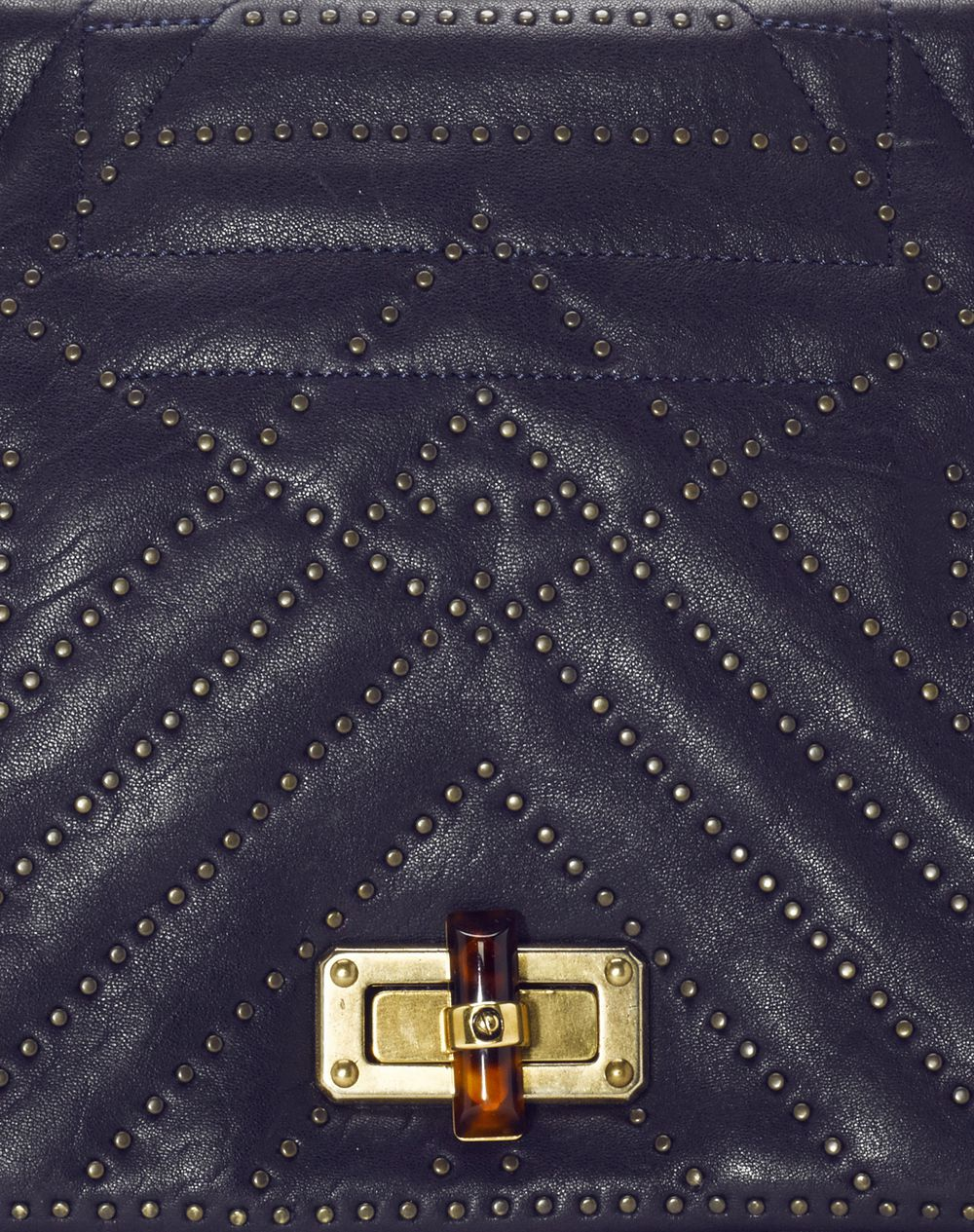 Medium studded lambskin happy bag - Lanvin