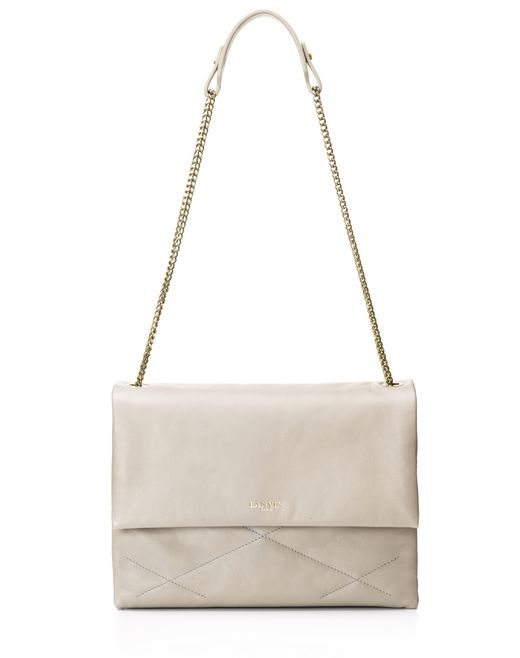 Medium lambskin sugar bag  - Lanvin