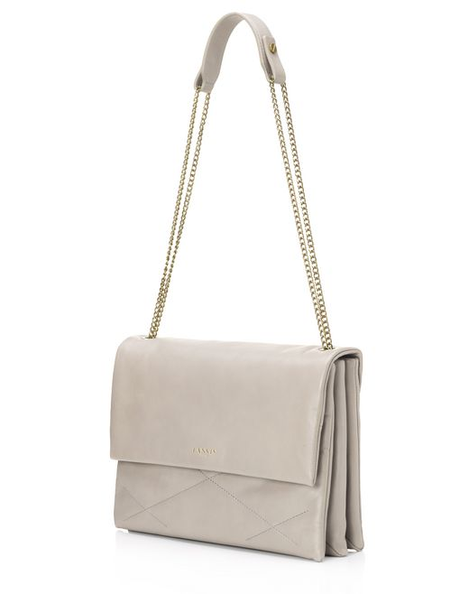 lanvin medium lambskin sugar bag  women