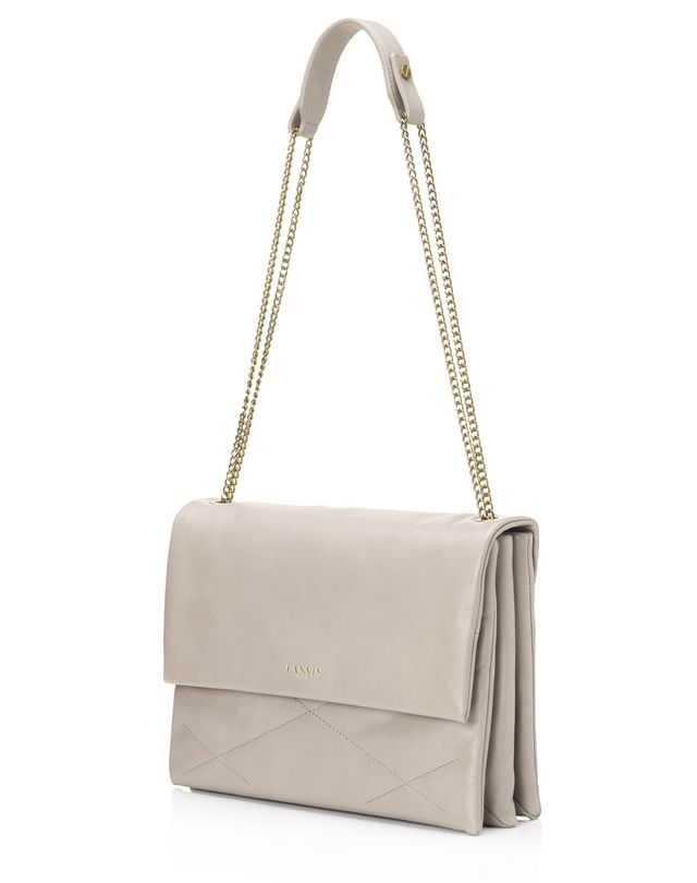 LANVIN Medium lambskin sugar bag Shoulder bag D r