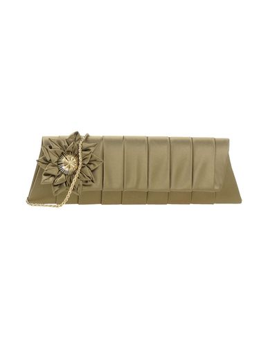 CHIARA P レディース ハンドバッグ ミリタリーグリーン 紡績繊維