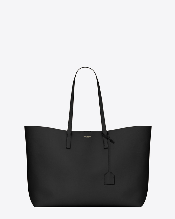 Saint Laurent Large SHOPPING SAINT LAURENT Tote Bag In Black ...
