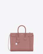 CLASSIC SMALL SAC DE JOUR BAG IN Old Rose Grained LEATHER