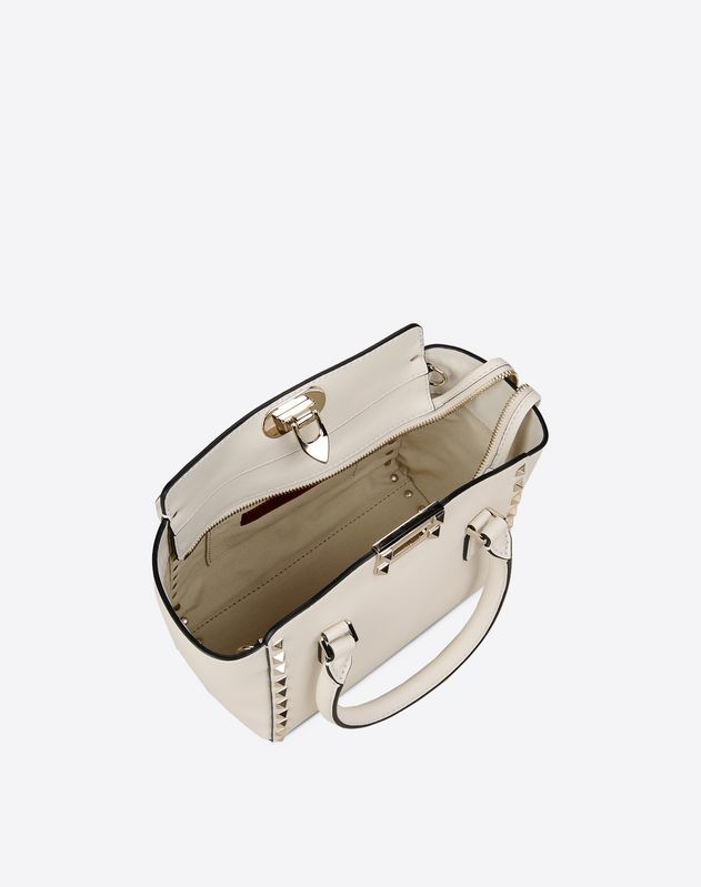 Mini Rockstud double handle bag