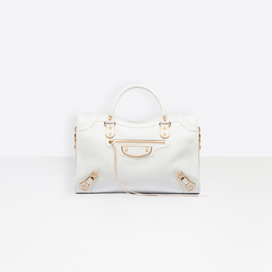 BALENCIAGA Classic Metallic Edge City Metallic Edge Handbag D f