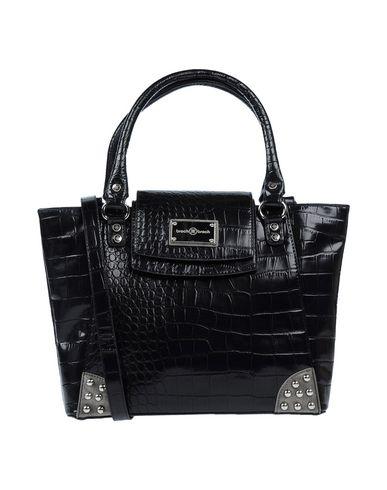 BROCH & BROCH レディース ハンドバッグ ブラック 紡績繊維
