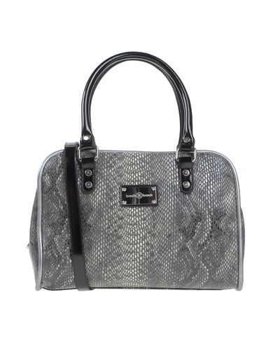 BROCH & BROCH レディース ハンドバッグ 鉛色 紡績繊維