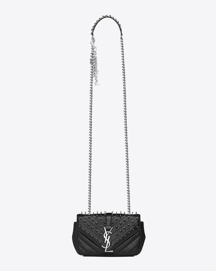 ysl studded bag