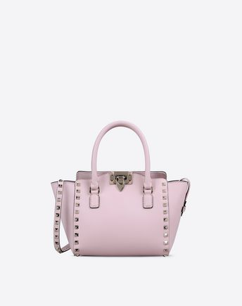 12d3d89470 Mini Rockstud double handle bag for Woman   Valentino Online Boutique