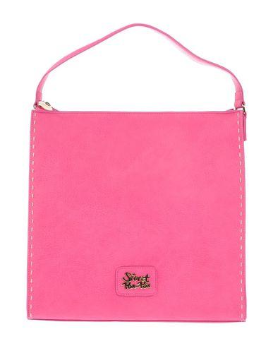 SECRET PON-PON レディース ハンドバッグ フューシャ 紡績繊維