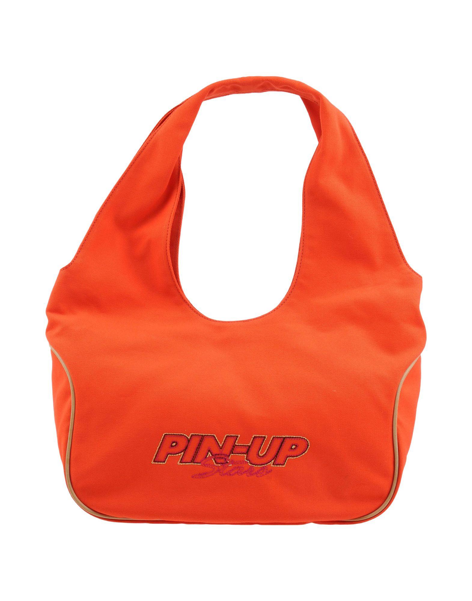 PIN UP STARS Damen Schultertasche Farbe Orange Größe 1
