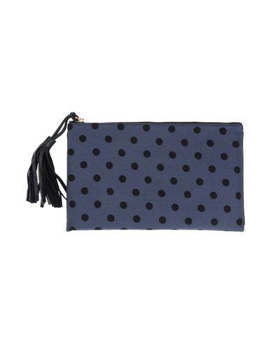 LISA C BIJOUX レディース ハンドバッグ ブルー 紡績繊維
