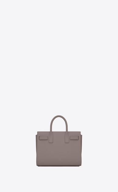SAINT LAURENT Nano Sac de Jour Donna nano sac de jour bag color nebbia in pelle b_V4
