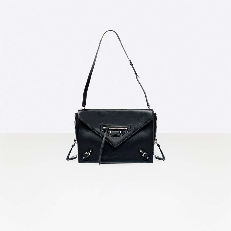 BALENCIAGA Papier Triple XS Zip Around Papier ZA Handbag D e