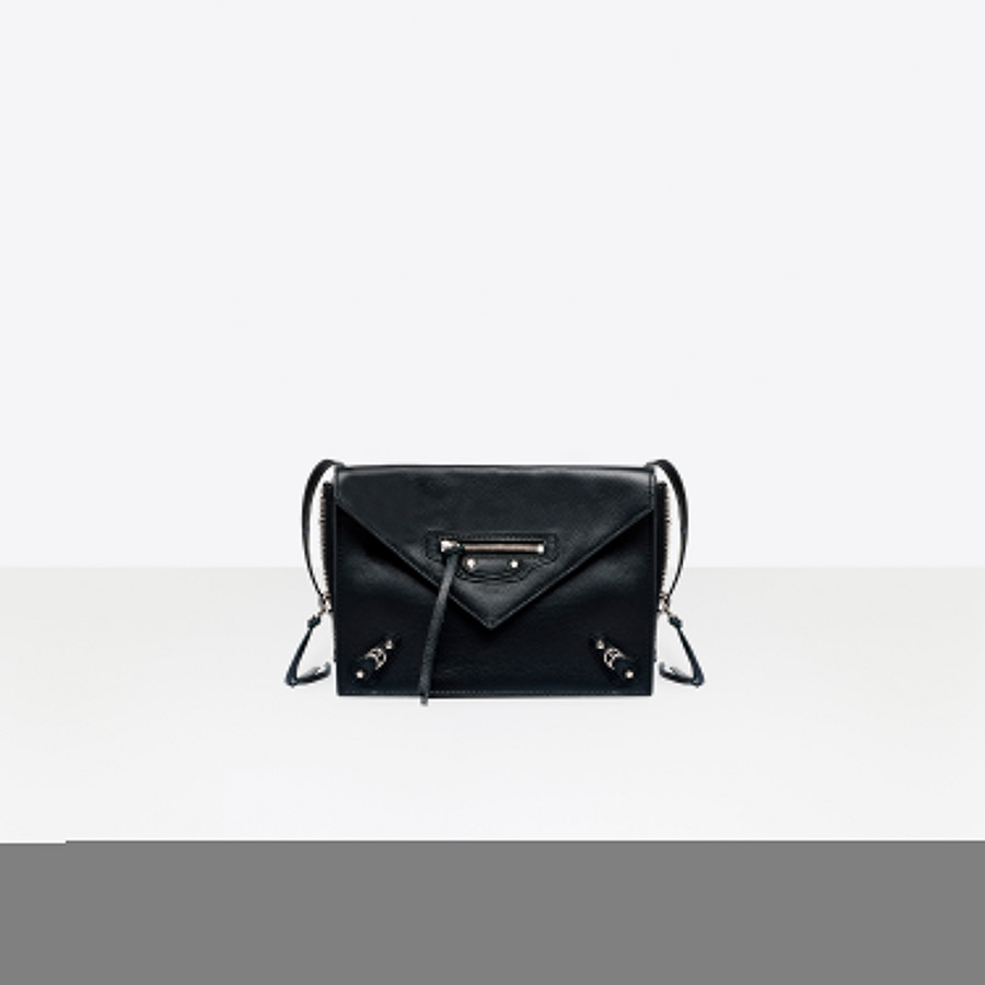 BALENCIAGA Papier Triple XS Zip Around Papier ZA Handbag D f