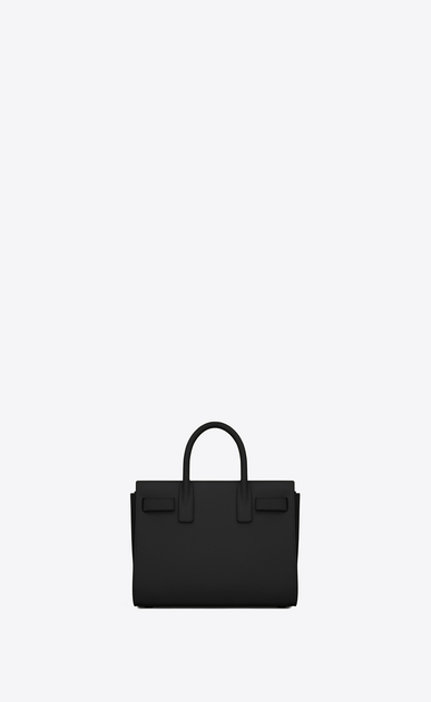 SAINT LAURENT Nano Sac de Jour Woman nano sac de jour bag in black leather b_V4