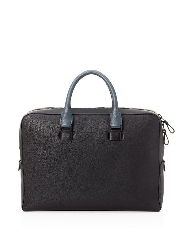LANVIN Briefcase case in grained calfskin Document holder U r