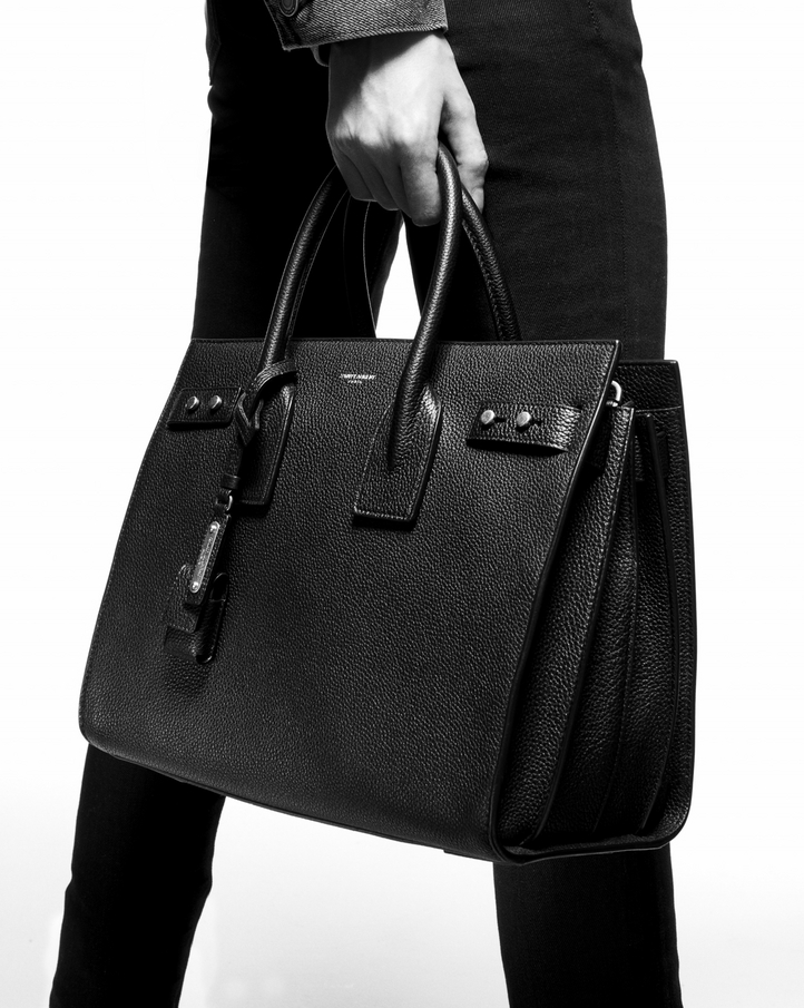 Zoom  classic sac de jour small in smooth leather, View with model 2 0064465891